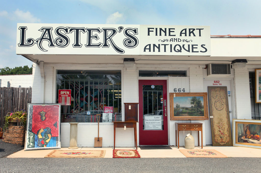 Laster's Fine Art & Antiques – Every Piece Has a Story
