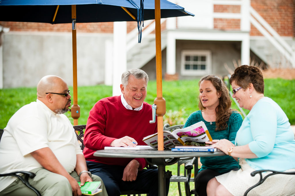 Adult Learning with a College Campus Atmosphere