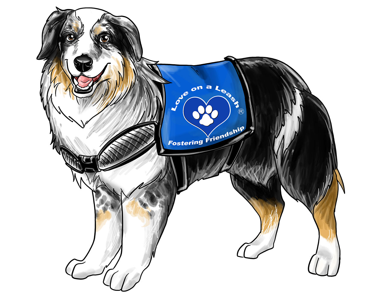 therapy dog team I believe that angel paws is a role model for anyone seeking true animal assisted therapy in a  scientifically measured benefits of therapy dog visits in a.