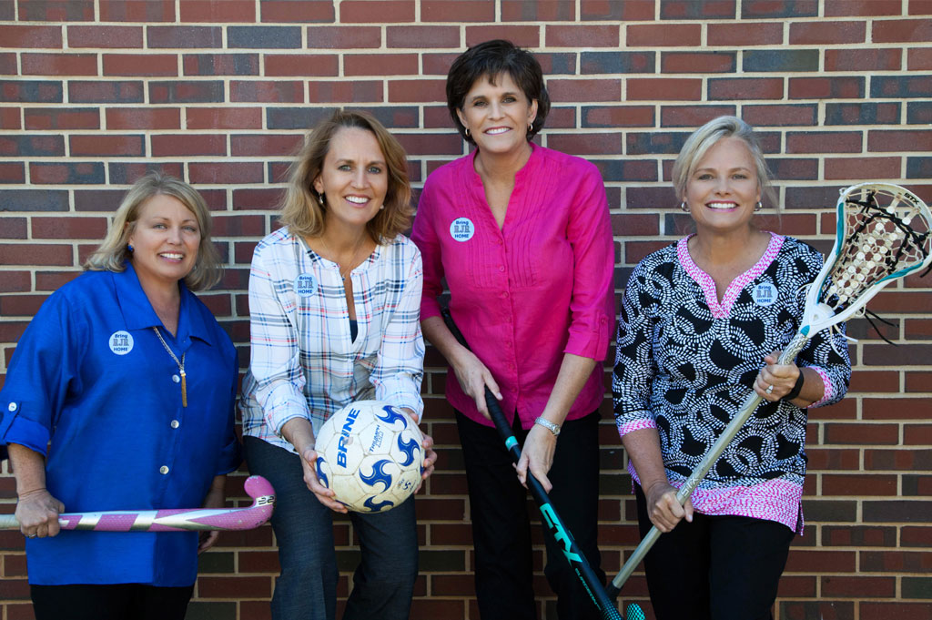 """Closer to Goal…The Women Behind Reynolds High School's """"Home Field Advantage"""" Campaign"""