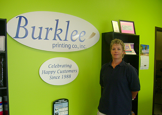 Burklee Printing: Putting it all on paper … and signs and t-shirts, too!