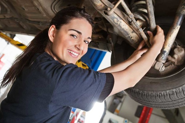 The Do-It-Herself Oil Change