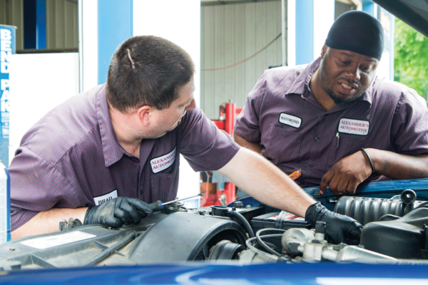 Alexander's Automotive:  Keeping you up and running!