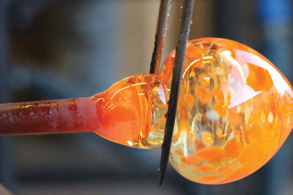 Camel City Creates: Glassblower Rebeccah Byer