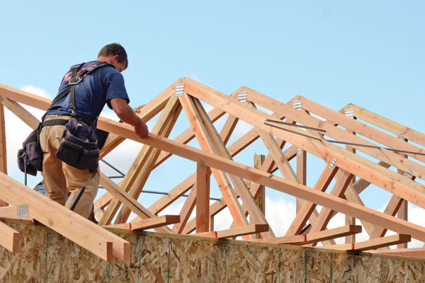 Constructing Dreams:  The Roof of a Home