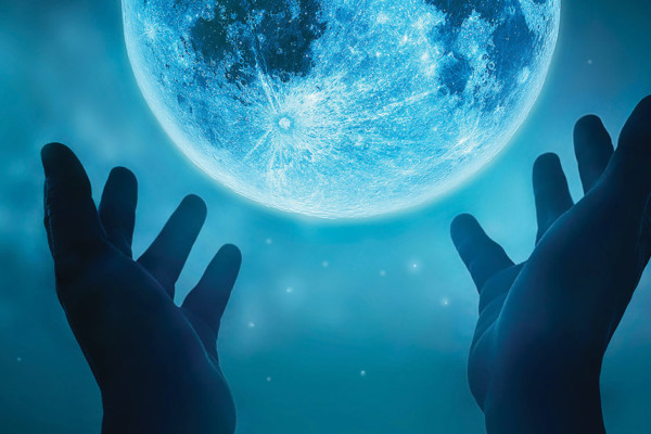 & Another Thing...  Hold the Moon in Your Hands And I mean that literally!