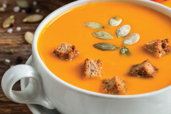 Recipes: Winter Squash Soup with Pie Spices