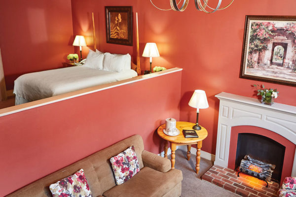 A Romantic Get Away at the Historic Brookstown Inn