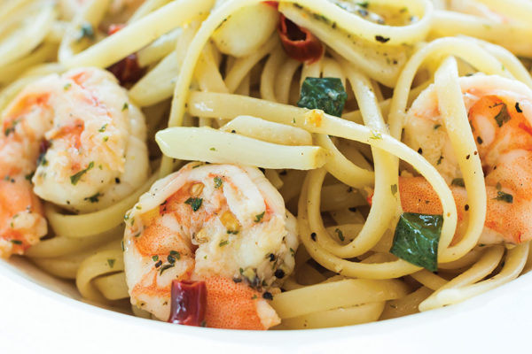 Recipe: Ina Garten's Linguine with Shrimp Scampi