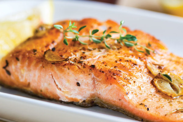 Recipe: Healthy Lemon Garlic Salmon