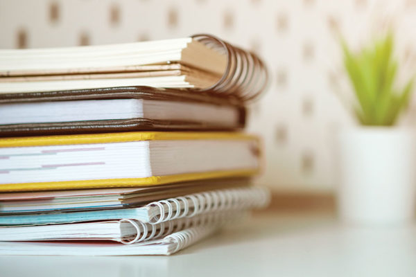 5 Ways to Make the Most of Your Empty Notebooks