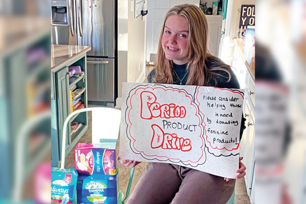 Exceptional Young Women in the Community: Olivia Brandon Strives to Help End Period Poverty