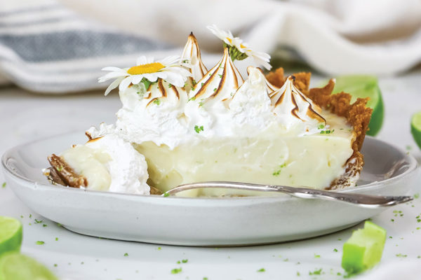The Easiest Key Lime Pie (with Olive Oil Graham Pie Crust)
