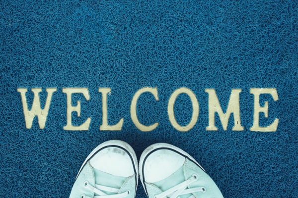 Put Out the Welcome Mat